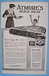 Vintage Ad: 1919 Atmore's Mince Meat