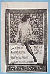 Vintage Ad: 1923 Holeproof Hosiery (Image1)