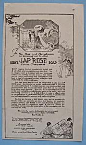 Vintage Ad: 1920 Kirk's Jap Rose Soap (Image1)