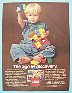 1978 Lego Blocks with Boy Playing with Blocks (Image1)