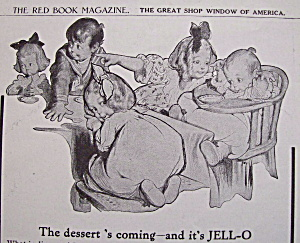 Vintage Ad: 1908 Jell - O