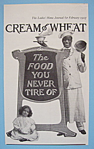 Vintage Ad: 1907 Cream Of Wheat (Image1)