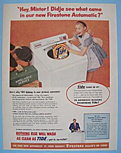 Vintage Ad: 1955 Firestone Automatic Washer (Image1)