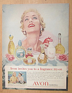 1957 Avon Cosmetics with Variety of Fragrances  (Image1)