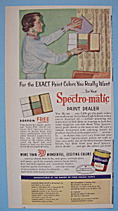 1955 Spectro-Matic Paint with Woman & Color Samples (Image1)