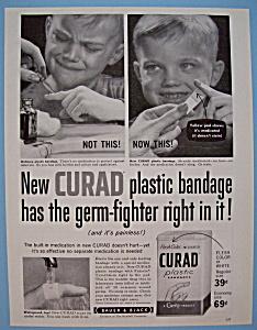Vintage Ad: 1955 Curad Plastic Bandages (Image1)