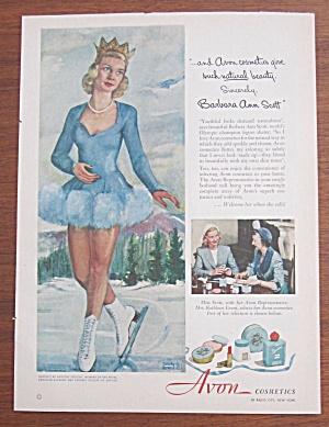 1951 Avon Cosmetics w/Figure Skater Barbara Ann Scott  (Image1)