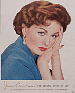 1956 Lustre-Creme Shampoo with Star Jeanne Crain (Image1)