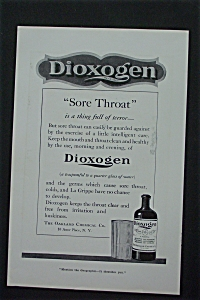 1917 Dioxogen with How It Helps a Sore Throat (Image1)