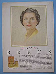 1956 Breck Shampoo with Breck Woman (Image1)
