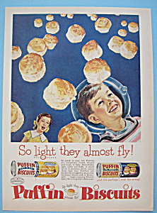 Vintage Ad: 1956 Puffin Biscuits