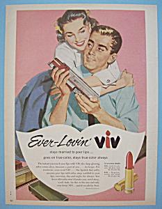 Vintage Ad: 1956 Ever - Lovin' Viv Lipstick (Image1)