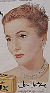 Vintage Ad: 1956 Lux Soap w/ Joan Fontaine (Image1)