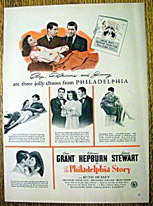 Vintage Ad: 1941 The Philadelphia Story (Image1)