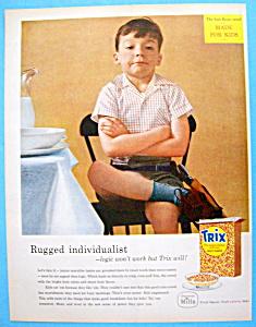 Vintage Ad: 1957 Trix Cereal (Image1)
