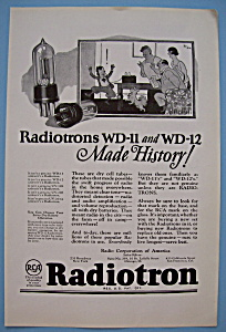 Vintage Ad: 1924 Radiotron (Image1)