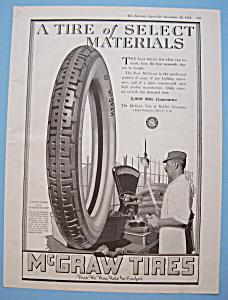 Vintage Ad: 1918 McGraw Tires (Image1)
