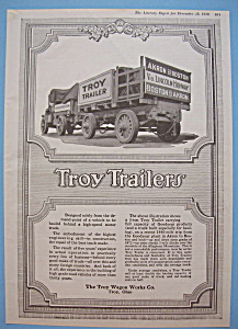 Vintage Ad: 1918 Troy Trailers (Image1)