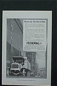 1917 Federal Motor Truck Company with Truck (Image1)