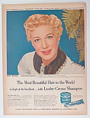 1952 Lustre Creme Shampoo with Betty Hutton (Image1)
