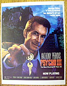 1986 Psycho III with Anthony Perkins (Image1)