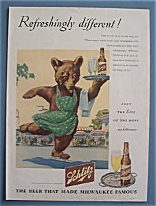 Vintage Ad: 1945 Schlitz Beer (Image1)