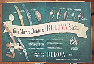 1946 Bulova Watches With For A Merrier Christmas