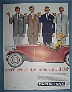 Vintage Ad: 1957 Surretwill Suit (Image1)