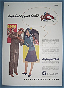 1941 Hart Schaffner & Marx with Man & Woman Talking (Image1)