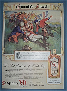 Vintage Ad: 1939 Seagram's V.o. Canadian Whiskey