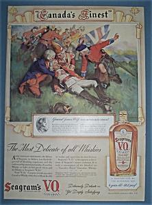 Vintage Ad: 1939 Seagram's V.O. Canadian Whiskey (Image1)