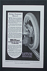 1917 Miller Geared-To-The-Road Tires with Man & Tire (Image1)