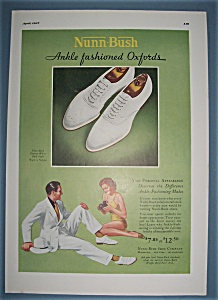 Vintage Ad: 1937 Nunn Bush Oxfords (Image1)