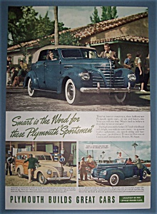 Vintage Ad: 1939 Plymouth Sportsman