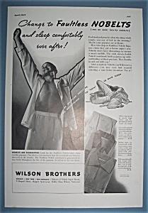 Vintage Ad: 1937 Wilson Brothers (Image1)