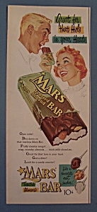 Vintage Ad: 1954 Mars Toasted Almond Bar