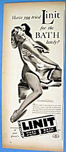 Vintage Ad: 1940 Linit Bath (Image1)