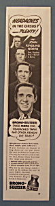 Vintage Ad: 1940 Bromo - Seltzer w/John Ringling North (Image1)