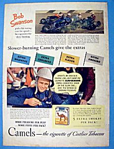 Vintage Ad: 1940 Camel Cigarettes with Bob Swanson (Image1)