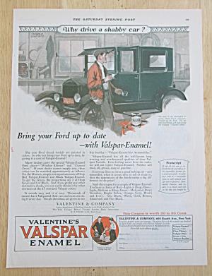 1926 Valentine's Valspar Enamel with Man Painting Car (Image1)