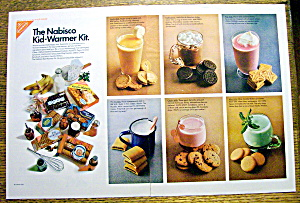 Vintage Ad: 1968 Nabisco Cookies Kid Warmer Kit