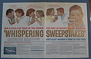 1963 Skippy Peanut Butter W/people By Norman Rockwell