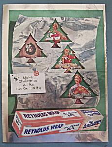 Vintage Ad: 1955 Reynolds Wrap Aluminum Foil (Image1)