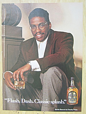 1991 Chivas Regal Whiskey With Herbie Hancock