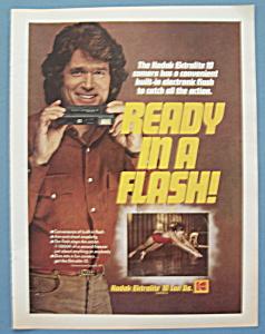 Vintage Ad:1979 Kodak Ektralite Camera w/Michael Landon (Image1)
