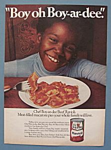 Vintage Ad: 1977 Chef Boy-Ar-Dee Ravioli (Image1)