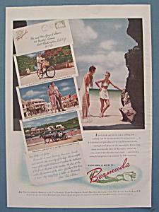 Vintage Ad: 1948 Bermuda (Image1)