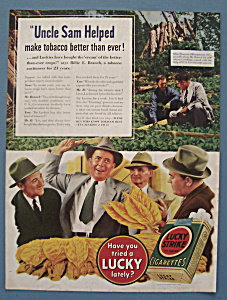 Vintage Ad: 1940 Lucky Strike Cigarettes