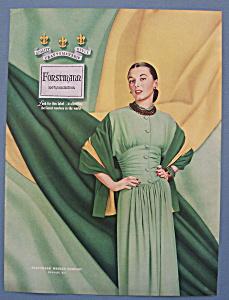 Vintage Ad: 1948 Forstmann Wool (Image1)
