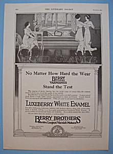 Vintage Ad: 1914 Luxeberry White Enamel (Image1)